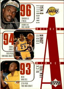 1996-97 Upper Deck #148 w/Kobe Bryant RC & Shaquille O'Neal Lakers