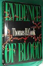 EVIDENCE OF BLOOD, BY Thomas H Cook*1971 Hardback*FREE Ship