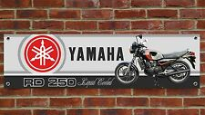 BR102 YAMAHA RD250 LC 350LC 4L1 MARS BAR CLASSIC RACING BANNER WORKSHOP SIGN