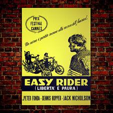 Movie Poster Easy Rider - 70x100 CM - Jack Nicholson