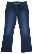 Catherine Malandrino Womens Jeans Size 14 Michele Bootcut Mid Rise Stretch Denim