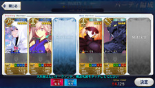 [JP] Fate Grand Order FGO Merlin Musashi + 182SQ starter account