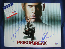 Photo Prison Break autographe signé par Wentworth Miller Dominic Purcell PSA DNA
