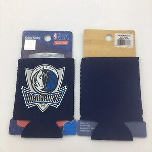 Set of 2 Dallas Mavericks Koozies / Can Holders Official Merchandise Navy New