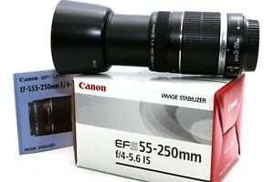 Canon EF-S 55-250mm IS f/4-5.6 Tele Zoom Objektiv für EOS Digitalkameras