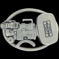Vintage NOS Panavision PANAFLEX Film TV Movie Camera Cameraman Gift Belt Buckle