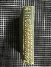 WOMAN IN WHITE Wilkie Collins Classic Gothic Novel  1929 1st Ed rare first no DJ