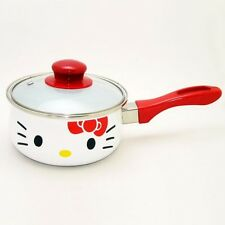 Sanrio Hello Kitty Kitchen Appliances Saucepan 16cm Red x White