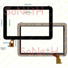 "Vetro Touch screen Digitizer 10,1"" Mediacom SmartPad 101S2 M-MP101S2 Nero"