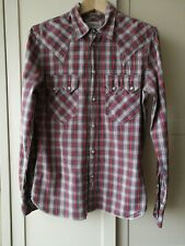 Levi's 'Product With Roots' Red White Check Shirt - size small