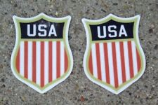 USA Hockey Shield Helmet Decals ~ Sochi Olympic Style 2014 ~ Helmet America