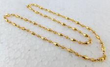 South Indian Jewelry Ethnic Gold Plated Beaded Necklace Chain 22k Light Mala p11