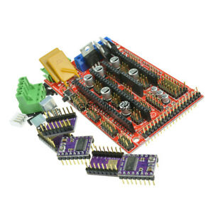 RAMPS 1.4 Controller Board + 5X DRV8825 StepStick Driver Module For 3D Printer K