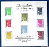 France Bloc N°67 Les Couleurs de Marianne en Euros 2004 Neuf Luxe