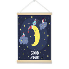 Good Night Moon NURSERY ART WALL DECOR  Wooden Hanging Picture