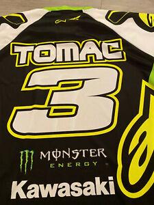 ELI Tomac Jersey Race WORN Anaheim 1 2016 Alpinestars