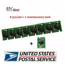 Epson Stylus Pro 7800/9800 Chip 8pcs/Set For Ink Cartridge + 1 maintenance tank