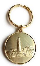 Fog Light Prayer Keychain Lighthouse AA Medallion Bronze Foglight Sobriety Chip