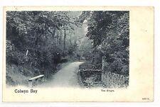 BG39 1904 Irlanda Dublino dundrum Colwyn Bay cartolina