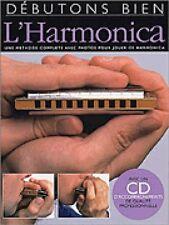 Debutons Bien: L'Harmonica - Absolute Beginners: Harmonica French Edit 014000948