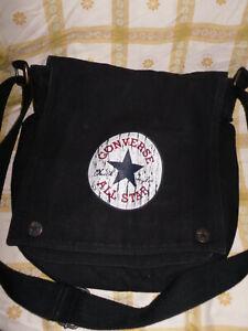 Converse All Star Tasche Handtasche Umhängetasche Schultertasche schwarz unisex