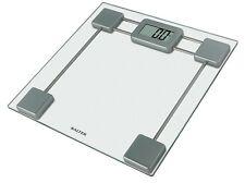 Salter 9082 VETRO TRASPARENTE Elettronica Bagno Bilancia DIGITALE LCD DA Bilance