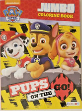 "Paw Patrol ""Pups on the Go!"" Jumbo Coloring And Activity Book 96 Pages w"