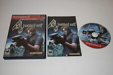 Resident Evil 4 Sony Playstation 2 PS2 Video Game Complete