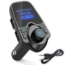 Kit FM Transmisor Bluetooth Para Carro Adaptador Inalambrico USB Para Telefonos
