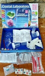 Clementoni Crystal Lab, Science Museum, age 8+ FREE POSTAGE no outer wrap
