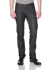 James Jeans Travis Men's Slim Straight Low Rise MADE IN USA $195 RAW NEW 31x32