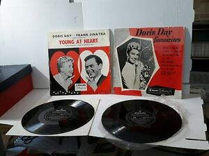 Doris day Young At Heart And Favourites 10 Inch records