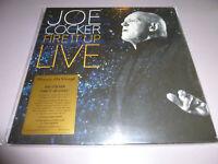 Joe Cocker - Fire It Up LIVE - 2LP 180g audiophile coloured Vinyl /// Gatefold