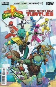 Mighty Morphin Power Rangers Teenage Mutant Ninja Turtles 1 NM/MT covers A C & E