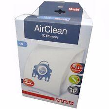 Miele GN Staubsauger Air Clean Tüten 4 Beutel 2 Filter blau Kragen Original