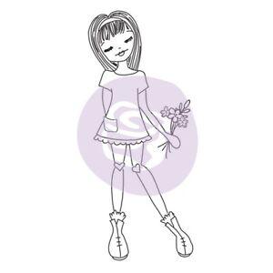 Prima Julie Nutting Daisy Doll Stamp Friendship Flowers