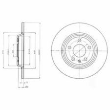 Disco freno (2 pezzi) - Delphi bg4081