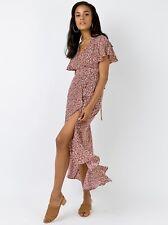 Princess Polly Moylana Floral Dress Size 8