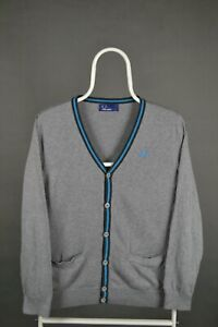 Boys Fred Perry Cardigan Kids Children Size L Large