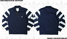 """adidas Originals by 84-LAB. """"LACE UP FB KZK"""" Rugby Shirt(L)Navy Z34182 Kuraishi"""