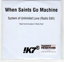 (EF277) When Saints Go Machine, System of Unlimited Love - 2013 DJ CD
