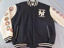 NY Yankees Men's Vasity Jacket; 2000 WS Champs; Patch Jacket; EXTREMELY RARE!