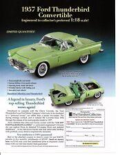 1957 FORD THUNDERBIRD CONVERTIBLE ~ NICE DIECAST AD