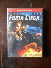 DVD FURIA CIEGA - EDICION DE ALQUILER - NICOLAS CAGE (4F)