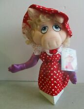 Jim Henson'S The Muppets Miss Piggy Hand Puppet Tag Intact Excellent Condition