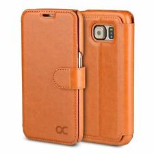 Synthetic Leather Wallet Cases for Samsung Galaxy S6