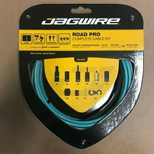 Jagwire Road Pro Complete Road Bike Brake and Gear Cable Set Celeste