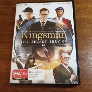 Kingsman The Secret Service DVD R4 LIKE NEW FREE POST