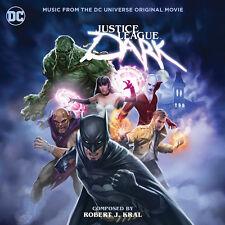 JUSTICE LEAGUE DARK Robert J. Kral CD LA-LA LAND Score Soundtrack BATMAN New!