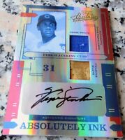 FERGUSON FERGIE JENKINS 2004 Playoff Authentic Game Used Auto SP 5/5 RARE Cubs $